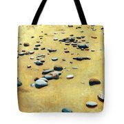 Great Lakes Triptych 2 Tote Bag by Michelle Calkins