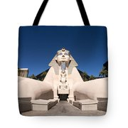 Great Sphinx Of Giza Luxor Resort Las Vegas Tote Bag by Edward Fielding