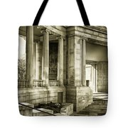 Greek Theatre 7 Golden Age Tote Bag by Angelina Vick