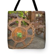 Green Axle Tote Bag by Jean Noren