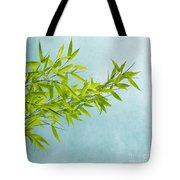 green bamboo Tote Bag by Priska Wettstein