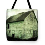 Green Barn Tote Bag by Julie Hamilton
