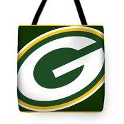 Green Bay Packers Tote Bag by Tony Rubino