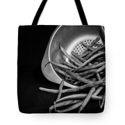 Green Beans Tote Bag by Lauri Novak