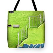 Green House  Tote Bag by Julie Gebhardt