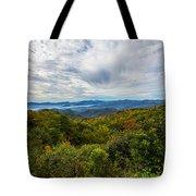 Green Knob Overlook Tote Bag by John Haldane