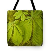 Green Leaves Series Tote Bag by Heiko Koehrer-Wagner