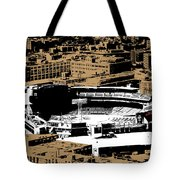 Green Monster Tote Bag by Charlie Brock