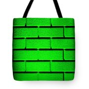 Green Wall Tote Bag by Semmick Photo