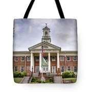 Greeneville Town Hall Tote Bag by Heather Applegate