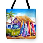Greenie Tote Bag by Deb Broughton