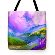 Greeting The Dawn Tote Bag by Jane Small