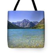 Grinnel Lake Glacier National Park Tote Bag by Rich Franco