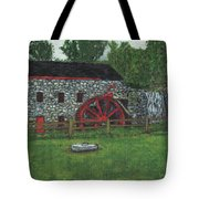 Grist Mill At Wayside Inn Tote Bag by Cliff Wilson