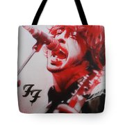 'grohl II' Tote Bag by Christian Chapman