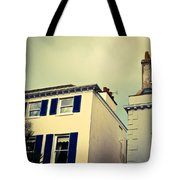 Guernsey Houses Tote Bag by Tom Gowanlock