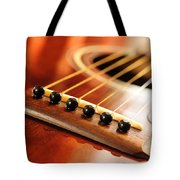 Guitar Bridge Tote Bag by Elena Elisseeva