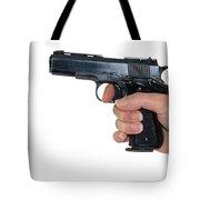 Gun Safety Tote Bag by Charles Beeler