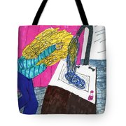 Hair Wash Tote Bag by Elinor Rakowski