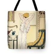 Hair Washing Tote Bag by Joseph Kuhn-Regnier