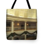 Hall Of Presidents Walt Disney World Panorama Tote Bag by Thomas Woolworth
