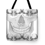 Halloween Background Tote Bag by Michal Boubin