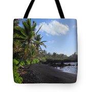 Hana Bay Palms Tote Bag by Inge Johnsson