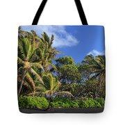 Hana Palm Tree Grove Tote Bag by Inge Johnsson