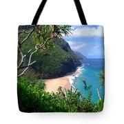 Hanakapiai Beach Tote Bag by Brian Harig