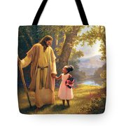 Hand In Hand Tote Bag by Greg Olsen