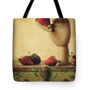 Hand Picked Tote Bag by Amy Weiss