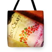 Handcraft Cabernet Sauvignon Tote Bag by Mary Machare