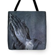 Hands Of An Apostle 1508 Tote Bag by Philip Ralley