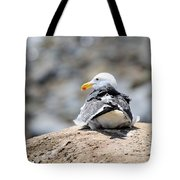 Hanging Out Tote Bag by La Dolce Vita