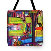 Hanukah 1 Tote Bag by David Baruch Wolk