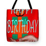 Happy Birthday 3 Tote Bag by Patrick J Murphy