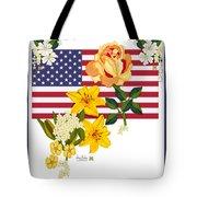 Happy Birthday America 2013 Tote Bag by Anne Norskog