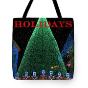 Happy Holidays Tote Bag by David Lee Thompson