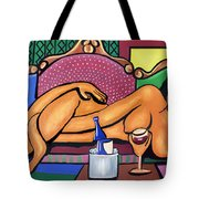 Happy Hour Tote Bag by Anthony Falbo