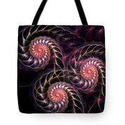 Happy Lights Tote Bag by Anastasiya Malakhova