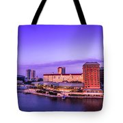 Harbor Island Tote Bag by Marvin Spates