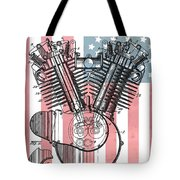 Harley Davidson Engine Patent American Flag Toddler T