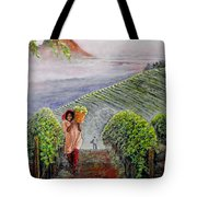 Harvest At Dawn Tote Bag by Michael Durst