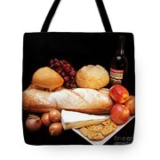 Harvest Bounty Square Tote Bag by Andee Design