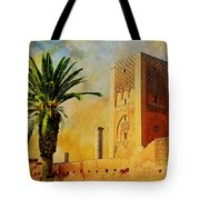 Hassan Tower Tote Bag by Catf