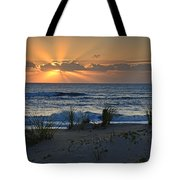 Hatteras Dawn Tote Bag by Eric Albright