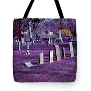 Haunted Cemetery Tote Bag by Alys Caviness-Gober