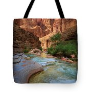 Havasu Creek Tote Bag by Inge Johnsson