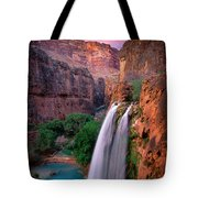 Havasu Falls Tote Bag by Inge Johnsson