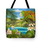 Have You Heard  Tote Bag by Carolyn Steele